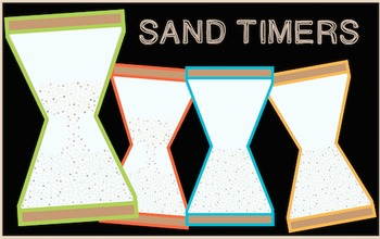 Sand Timers Freebie! {Commercial and Personal Use!}