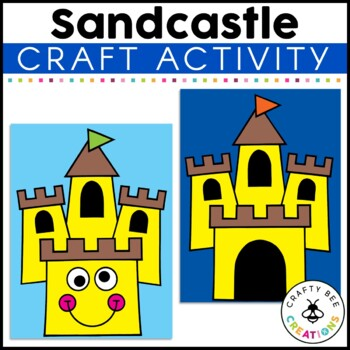 Sandcastle Cut and Paste