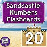 Sandcastle Numbers Flashcards