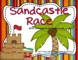Sandcastle Race Literacy Center Treasures Reading Dipthongs (oy/oi)
