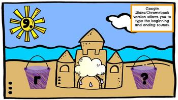 Sandcastle Sounds-A Digital Literacy Center (Compatible with Google Apps)