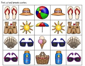 Sandcastle Sums & Differences: Pre-K/K Math Centers