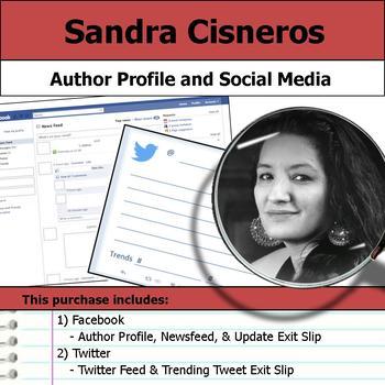 Sandra Cisneros - Author Study - Profile and Social Media