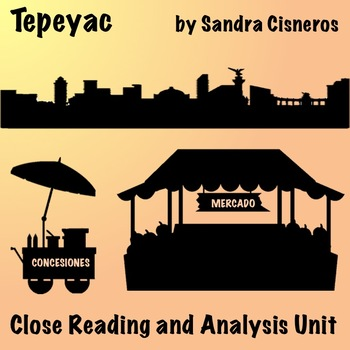 """Tepeyac"" by Sandra Cisneros - Free Short Story Analysis Unit"