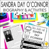Sandra Day O'Connor Biography & Reading Response Activitie