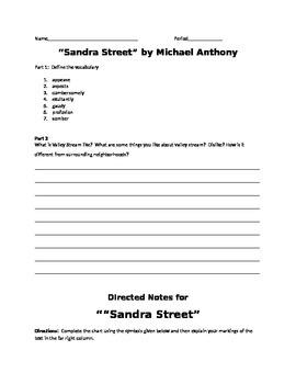 Sandra Street by Michael Anthony