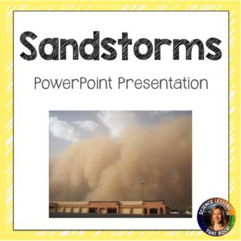 Sandstorms SMART Notebook presentation