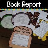 Sandwich Book Report Printable