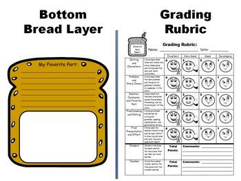 Sandwich book report project templates by heidi mcdonald tpt sandwich book report project templates pronofoot35fo Gallery