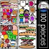 Sandwich Clipart MEGA Set