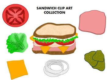 Sandwich Clipart Collection