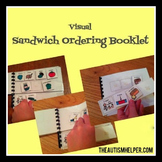 Sandwich Ordering Booklet for Children with Autism
