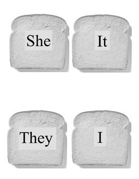 Sandwich Sentence Builder