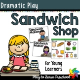 Sandwich Shop Dramatic Play