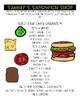 Sandwich Shop Life Skills Activity