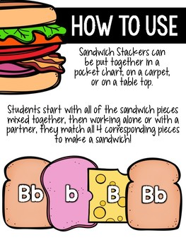 Sandwich Stackers {BUNDLE!}