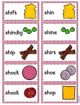 Sandwich Stackers!  Practice with Digraphs