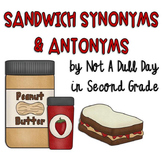 "Sandwich Synonyms and ""Jam""azing Antonyms"