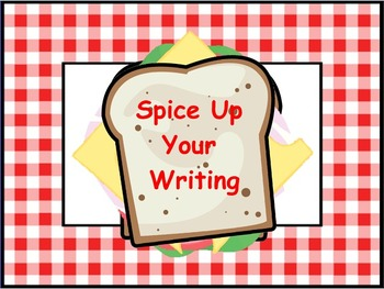 Sandwich Writing Flipchart