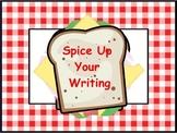 Sandwich Writing Flipchart