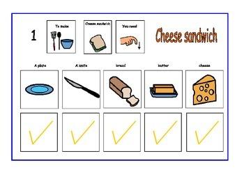 Sandwich tick schedule