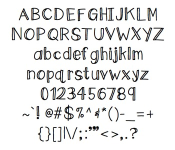 Sandy: Font for Personal + Commercial Use