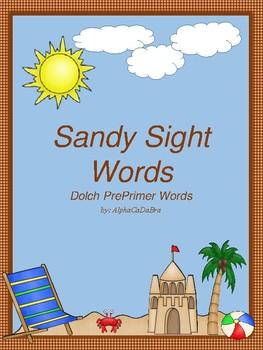 Sandy Sight Words