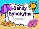 Sandy Synonyms- CCSS ELA Grade 1- Synonym Sort