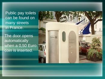 Sanisettes - public toilets in France