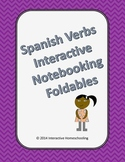 Spanish Verbs Interactive Notebooking Foldables