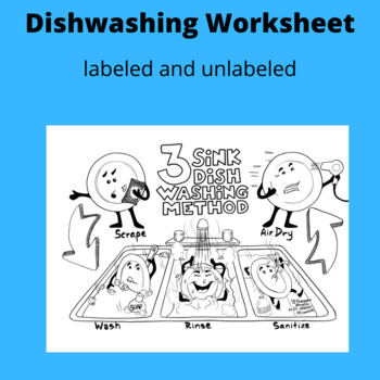 Dishwashing Worksheet