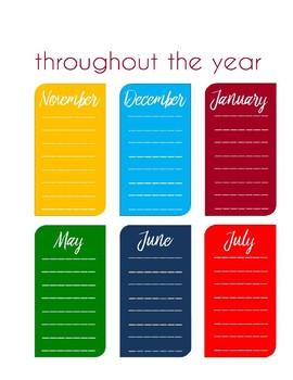 Sanity Saver: Important Dates