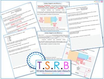 Sankey Diagrams Worksheets & Teaching Resources | TpT
