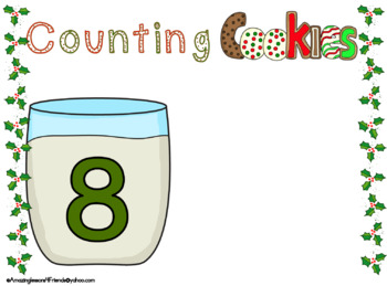 Sant's Counting Cookies Mats 1 to 10