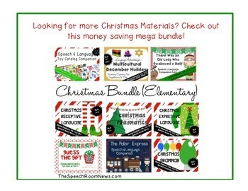 Santa Actions Cards: Freebie
