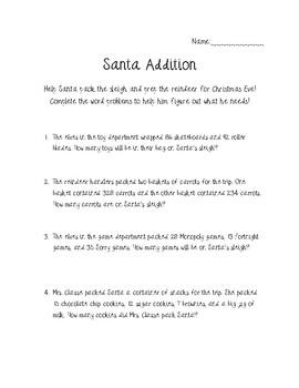 Santa Addition