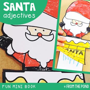 Santa Adjectives Interactive Activity