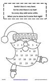 Santa Advent (Count Down Until Christmas) Calendar