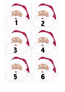 Santa Advent Numbers