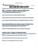 Santa Anna Web Scavenger Hunt