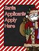 Santa Application, Writing, and Craft