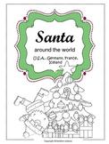Santa Around the World (USA, Germany, France, Iceland)