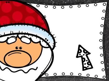 Santa Behavior Chart: Editable Holiday Classroom Decor
