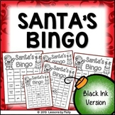 Santa's Bingo for Holiday Events and Classroom Parties {Bl