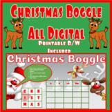 Santa Boggle - Digital for Google Classroom or Printable Handout!