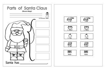 Santa Brace Map
