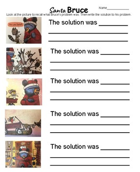 Santa Bruce Problem and Solution