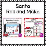 Santa Build and Draw Visual Perception Bundle