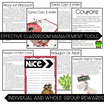 Santa Cam: December Classroom Management System