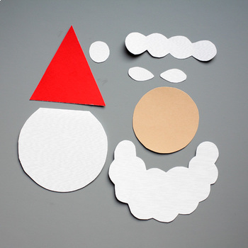 Santa Card - Christmas Craft